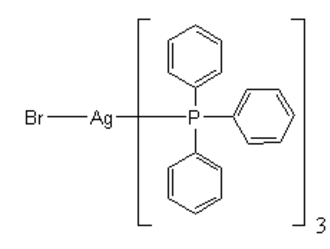 Silver bromide - tris(triphenylphosphino)silver bromide