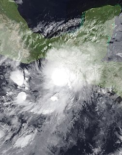 Tropical Storm Agatha Pacific tropical storm in 2010