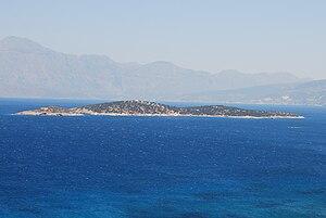 Agioi Pantes (island) - The islet of Agioi Pantes.