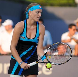 Ágnes Szávay - Szávay at the 2010 US Open