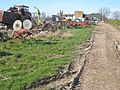 Agricultural graveyard at Harpington Hill - geograph.org.uk - 389866.jpg
