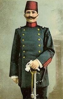 Ahmed Niyazi Bey Ottoman bey and revolutionary