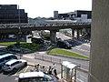 Air-Rail Link and exit roads, Birmingham Airport - geograph.org.uk - 1440599.jpg