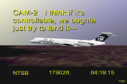 NTSB animation of N963AS (Alaska Airlines Flight 261)