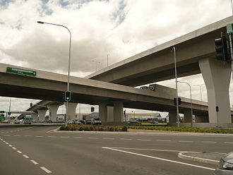 Road transport in Brisbane - The Airport Flyover alleviated a congestion black spot