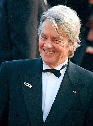 Français : Alain Delon au festival de Cannes