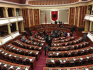 Parliament of Albania - Albanian Parliament opened for public