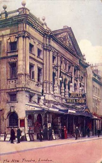 Noël Coward Theatre - New Theatre, postcard, circa 1905