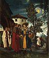 Albrecht Altdorfer - Der heilige Florian nimmt Abschied vom Kloster.jpg