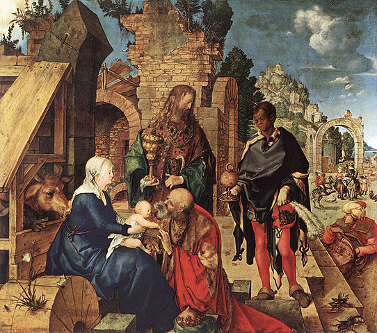 Image result for Durer adoration of the magi