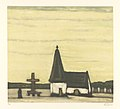 Album 8 estampes (en couleurs) (02) - Vieille église en Campine, print by Armand Apol (1879-1950), Belgium, Prints Department of the Royal Library of Belgium, S.III 112558.jpg