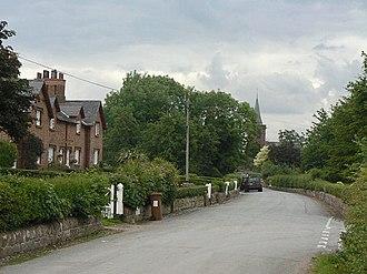 Aldford - School Lane
