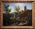 Alessandro magnasco, paesaggio con zingari e lavandaie, 1705-10 ca. 01.jpg