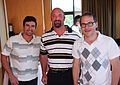 Alex Tagliani and Jacques Villeneuve at Mont-Tremblant 2010 01.jpg