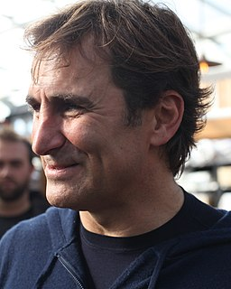 Alex Zanardi Italian racecar driver and handcyclist