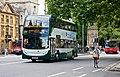 Alexander Dennis Enviro 400H diesel-electric hybrid bus in St Gile's Street, Oxford, England - geograph.org.uk - 2009180.jpg