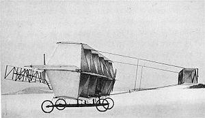 Bell Oionus I - The Oionus I at Baddeck, Nova Scotia in 1910