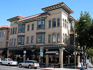 National Register of Historic Places listings in Napa County, California - Image: Alexandria Hotel and Annex, 840 844 Brown St., Napa, CA 9 5 2010 2 55 15 PM