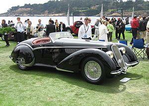 Alfa Romeo - 8C 2900B Touring Spider (1937)