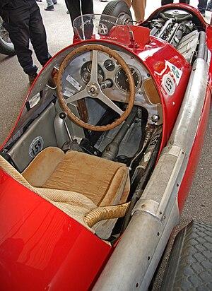 Alfa Romeo 158/159 Alfetta - Cockpit.