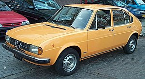 Alfa Romeo Pomigliano d'Arco plant - Image: Alfasud orange