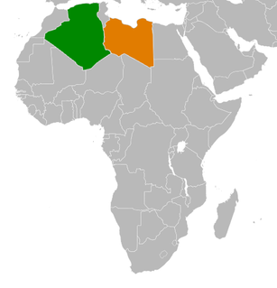 Algeria–Libya relations Diplomatic relations between the Peoples Democratic Republic of Algeria and State of Libya