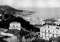 City and harbour of Algiers, circa 1921