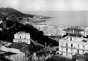 THE CITY AND HARBOR OF ALGIERS, ALGERIA