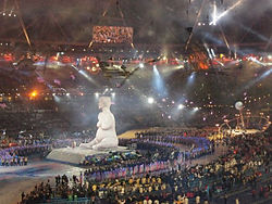 Alison Lapper Pregnant Paralympics opening ceremony.jpg