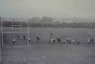 The Original All Blacks - The Originals playing Middlesex at Stamford Bridge.