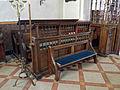 All Saints Church Farley, Wiltshire, England - chancel south choir stalls.jpg