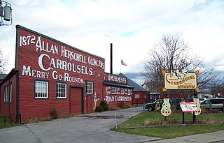 Herschell Carrousel Factory Museum United States historic place