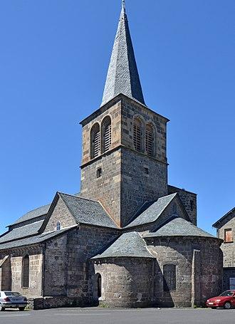 Allanche - Image: Allanche Eglise St Jean Baptiste dpt Cantal DSC 0594