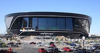 Allegiant Stadium Domed football stadium in Las Vegas, Nevada