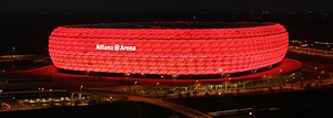 Allianz arena at night Richard Bartz