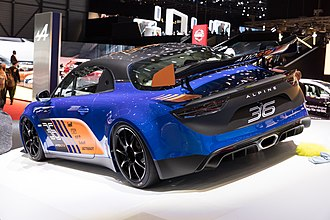 Signature Team - The Alpine A110 GT4 is a collaboration between Signature Team and Alpine