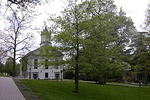 National Register of Historic Places listings in Allegany County, New York - Image: Alumni Hall 2004