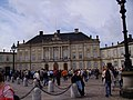 Amalienborg Palace-Winter home of the Danish royal family.jpg