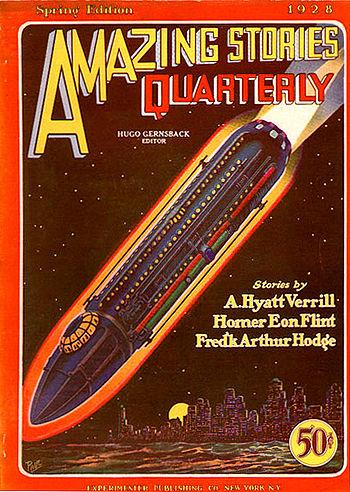 Amazing Stories, premier magazine de science-fiction américain