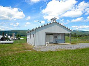 Miles Township, Centre County, Pennsylvania - Amish school near Rebersburg