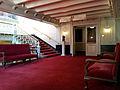 Amsterdam, Stadsschouwburg, trappenhuis Marnixzijde, bordes zaalniveau.jpg