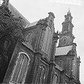Amsterdam, Westerkerk. Exterieur vanuit het noordoosten met Westertoren, Bestanddeelnr 918-1319.jpg