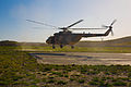 An Afghan National Army rescue helicopter lands at Combat Outpost Lily, Paktika province, Afghanistan, May 20, 2013 130520-A-NQ567-065.jpg