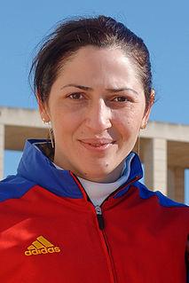 Anca Măroiu Romanian fencer