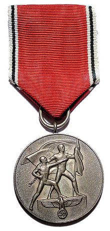 Medaille Zur Erinnerung An Den 13 März 1938 Wikipedia