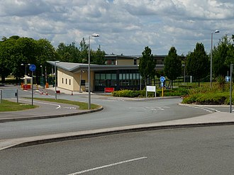 Army Headquarters (United Kingdom) - Entrance to Army Headquarters