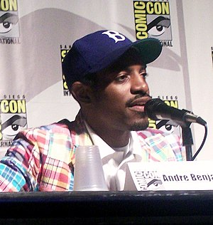 English: Andre 3000, AKA Andre Benjamin at the...