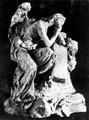 Andrea Malfatti – Angelo seduto che piange sopra una croce.tif