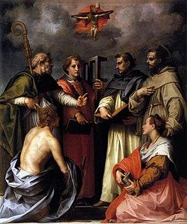 1517 painting by Andrea del Sarto