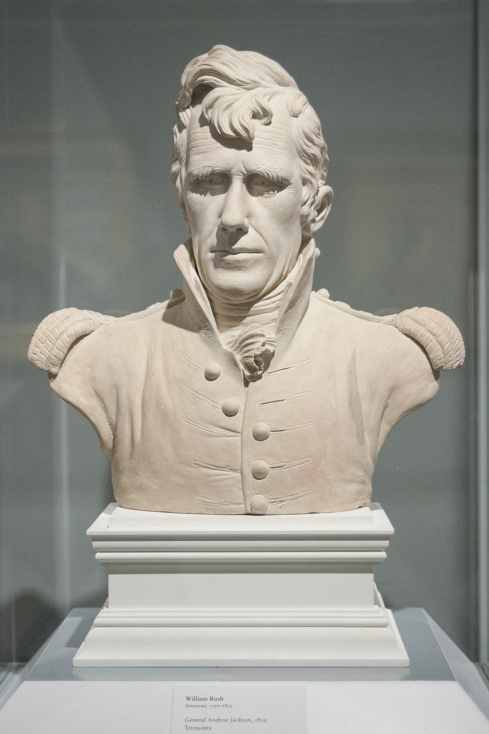 Andrew Jackson bust